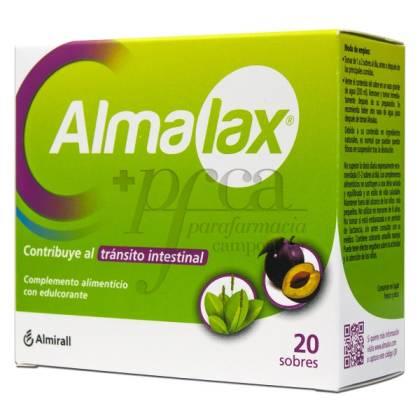 ALMALAX TRANSITO INTESTINAL 20 SOBRES