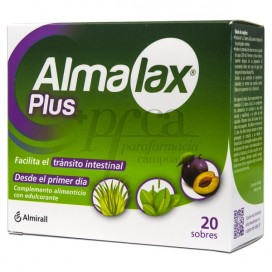 ALMALAX PLUS TRANSITO INTESTINAL 20 SOBRES