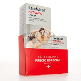 LAMBDAPIL ANTICAIDA CHAMPU 400ML + 100ML PROMO