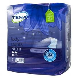 TENA LADY PANTS NIGHT T-L 7 UDS