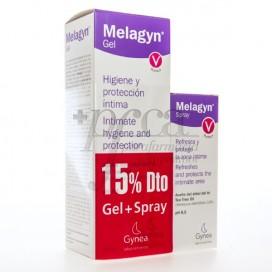 MELAGYN DUO PROTEÇÃO INTIMA 50 ML SPRAY + 200 ML GEL