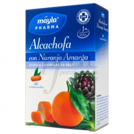 ALCACHOFRA + COM LARANJA AMARGA 30 COMPRIMIDOS