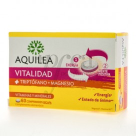 AQUILEA VITALITY TRYPTOPHAN AND MAGNESIUM 60 TABLETS