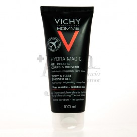 VICHY HOMME HAIR AND BODY SHOWER GEL 100 ML