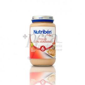 NUTRIBEN POLLO VERDURAS 250 G