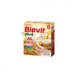 BLEVIT PLUS SUPERFIBRA PAPINHA 5 CEREAIS 600 G