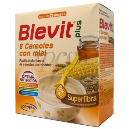 BLEVIT PLUS SUPERFIBRA 8 CEREALES Y MIEL 600 G