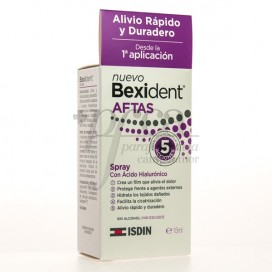 BEXIDENT AFTAS MOUTH SPRAY 15ML