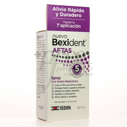 BEXIDENT AFTAS AC HIALURONICO SPRAY BUCAL 15ML