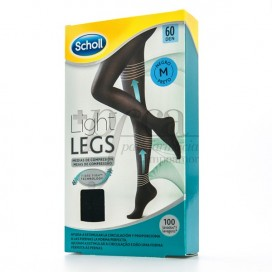 SCHOLL TIGHTS E.T LIGHT 60 DEN BLACK MEDIUM SIZE