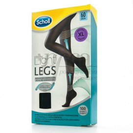 SCHOLL TIGHTS E.T LIGHT 60 DEN BLACK SIZE XL