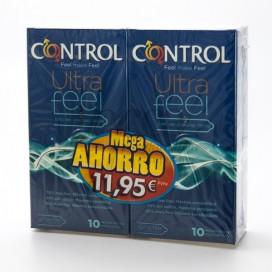 CONTROL ULTRAFEEL PRESERVATIVOS 2X10U PROMO