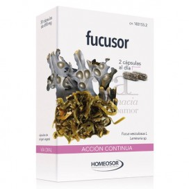 FUCUSOR RETARD HOMEOSOR 30 CAPS DE 690 MG