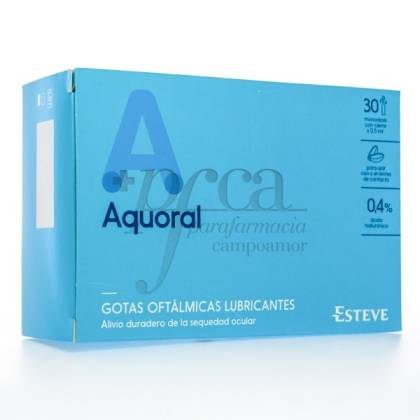 AQUORAL GOTAS OFTÁLMICAS LUBRIFICANTES 30X 5 ML