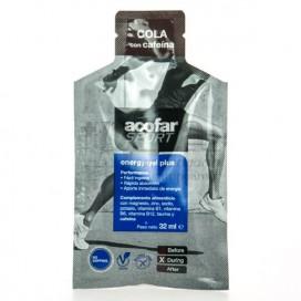 ACOFARSPORT ENERGY GEL PLUS 32 ML COLA + CAFEINA