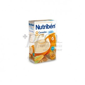 NUTRIBEN 8 CEREALS, HONEY AND CALCIUM 600 G