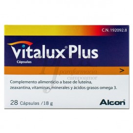 ALCON VITALUX PLUS 28 CAPS