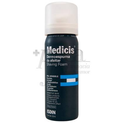 MEDICIS DERMOESPUMA DE AFEITAR 50 ML