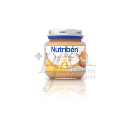 NUTRIBEN MACEDONIA DE FRUTAS 130 G