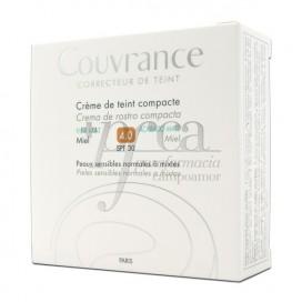 COUVRANCE CREMA COMPACTA SPF30 MATE 4 MIEL