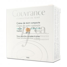 AVENE COUVRANCE COMPACT FOUNDATION SPF30 MATE 02 NATURAL