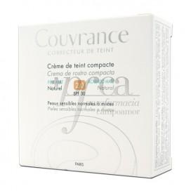 COUVRANCE CREMA COMPACTA SPF30 MATE 2 NATURAL