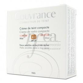 COUVRANCE CREMA COMPACTA SPF30 CONFORT 4 MIEL