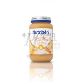 NUTRIBEN APPLE-PEACH- PINEAPPLE PORRIDGE