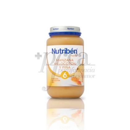 NUTRIBEN MANZANA MELOCOTÓN Y PIÑA 250 G