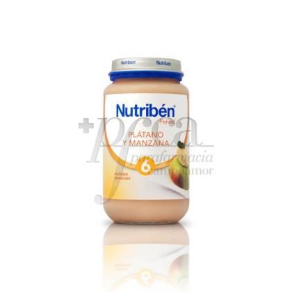NUTRIBEN PLÁTANO Y MANZANA 250 G