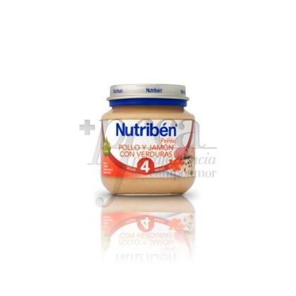 NUTRIBEN POLLO JAMON VERDURAS 130 G