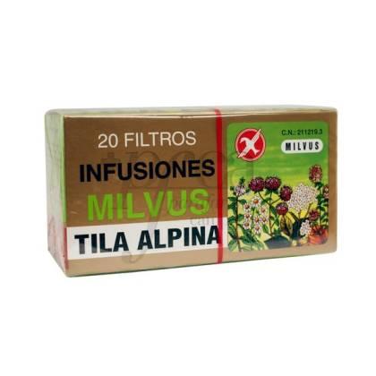 TILA ALPINA 20 FILTROS MILVUS