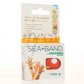 SEA-BAND PULSERA ANTIMAREO NIÑO 2U