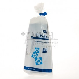 LUSAN WATTE EINGEROLLT 100 G HARTMANN