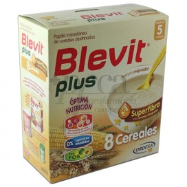 BLEVIT PLUS 8 CEREALES SUPERFIBRA 5M+ 300G