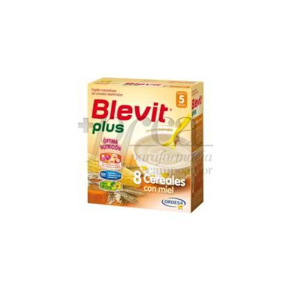 BLEVIT PLUS 8 CEREALES CON MIEL 600 G