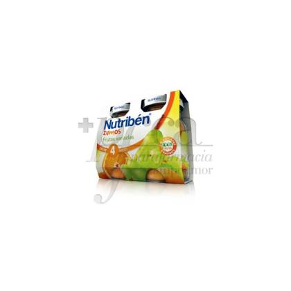 NUTRIBEN VARIED FRUITS JUICE 2 PIECES