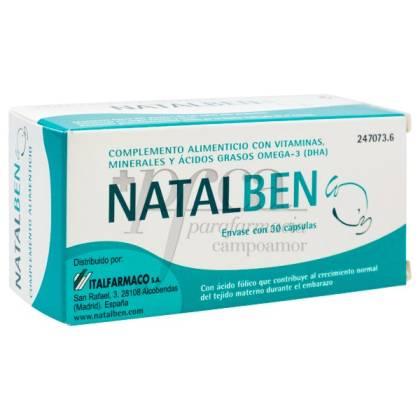 NATALBEN 30 CAPSULAS