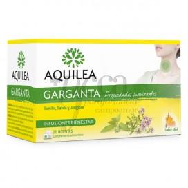 AQUILEA GARGANTA 20 SAQUINHOS DE CHÁ