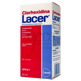 LACER COLUTORIO CLORHEXIDINA SPRAY 40 ML