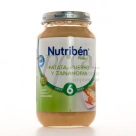 NUTRIBEN PATATA PUERRO Y ZANAHORIA 250G
