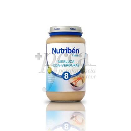 NUTRIBEN MERLUZA  CON VERDURAS 250 G
