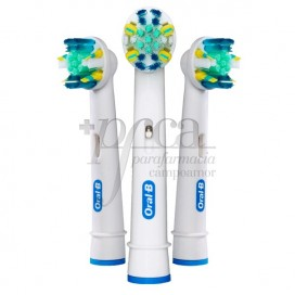 ORAL-B RECAMBIO CEPILLO  FLOSSACTION 3 U