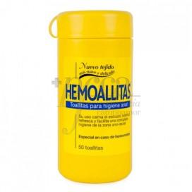 HEMOALLITAS HIGIENE ANAL 50 TOALHETES