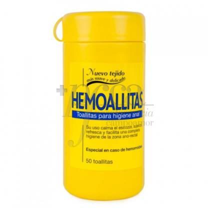 HEMOALLITAS 50 TOALLITAS