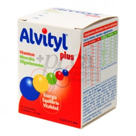 ALVITYL PLUS 40 COMPS
