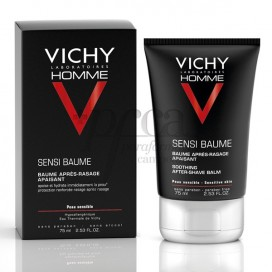 VICHY HOMME BALSAMO AFTER SHAVE PIEL SENSIBLE 75 ML
