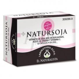 EL NATURALISTA NATURSOJA 60 CÁPSULAS