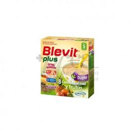 BLEVIT PLUS DUPLO 8 CEREALES MIEL Y FRUTAS 600 G