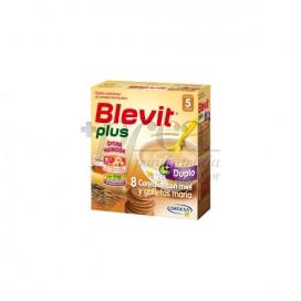 BLEVIT PLUS DUPLO 8 CEREALES CON MIEL Y GALLETAS 2 X 300 G